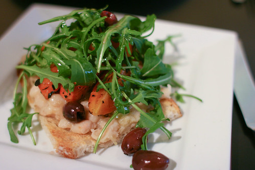 Cannellini Bean Bruschetta
