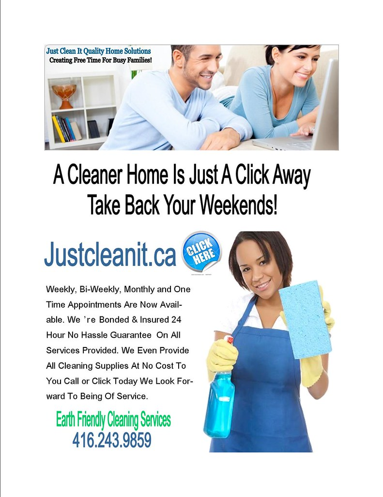 weekly,bi-weekly,monthly cleaning Services Toronto