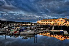 Boothbay (MG_images) Tags: sunrise harbor nikon maine scenic nik d200 hdr lightroom boothbay mygearandme mygearandmepremium mygearandmebronze mygearandmesilver mygearandmegold mygearandmeplatinum mygearandmediamond