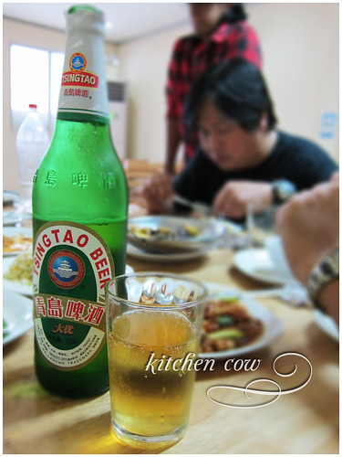 Hunan Restaurant at Camia St - Tsingtao beer