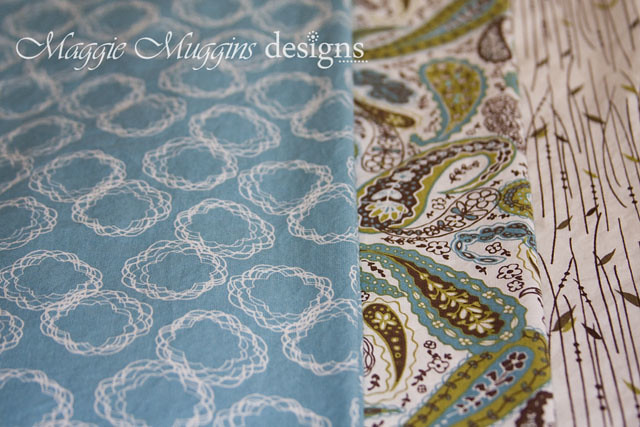 Blue Skies Collection Fabric