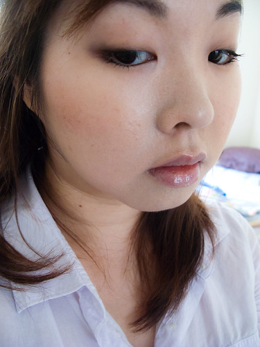 Barely-There Neutral Eye Makeup for Monolids