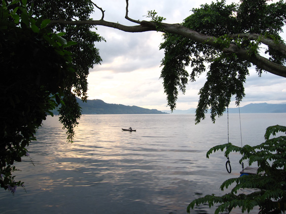 Sunrise Lake Toba