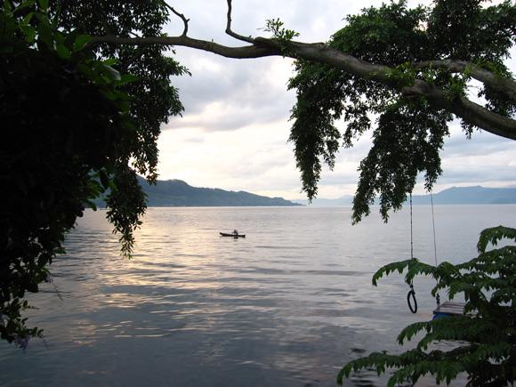 Sunrise Lake Toba