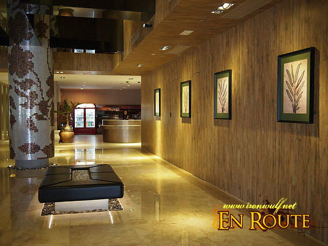 Sun City Reception lobby