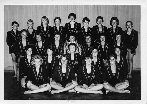 Que Que High School Swimming Team 1960