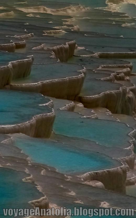 Travertine Terraces of Pamukkale