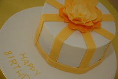 Ribbon (Cake O'Clock) Tags: flower rose cake ribbon piping royalicing cakeoclock fantasyflower