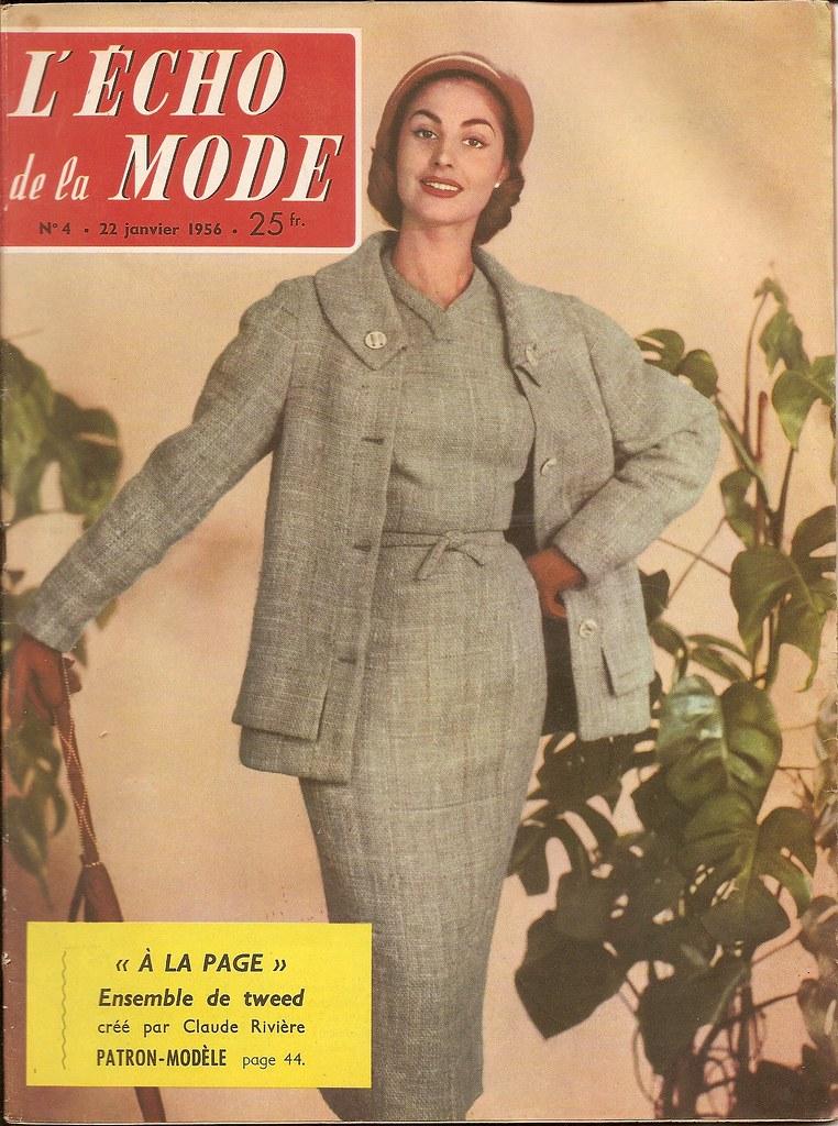 Echo de la mode N°4 22 janvier 1956