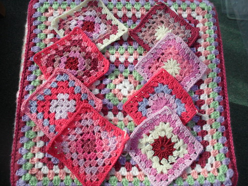 You can tell these are my colours! Simply beautiful Squares!