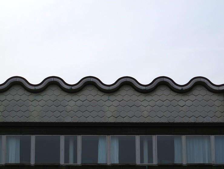 Wavy roof