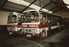 Tantivy 43 & 28 (Coco the Jerzee Busman) Tags: uk bus bedford coach all transport jersey types tantivy duple