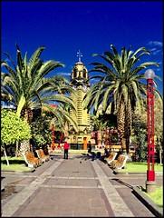 Antofagasta Plaza Colón Reloj Inglés (Victorddt) Tags: photoshop reloj sonycybershot plazacolón antofagasta