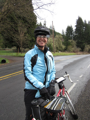 Susan, headed back to Vernonia