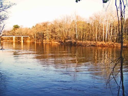 Tar River:  Tarboro, Edgecombe County, NC