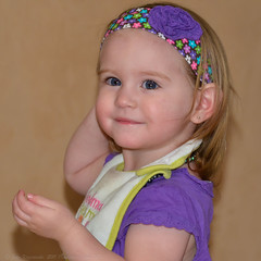 Future supermodel? (Images by John 'K') Tags: granddaughter ashlyn johnk d7000 ashlynelizabethmary johnkrzesinski randomok