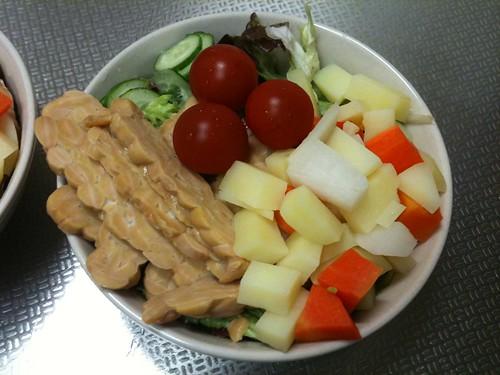 朝食サラダ(2011/3/17)