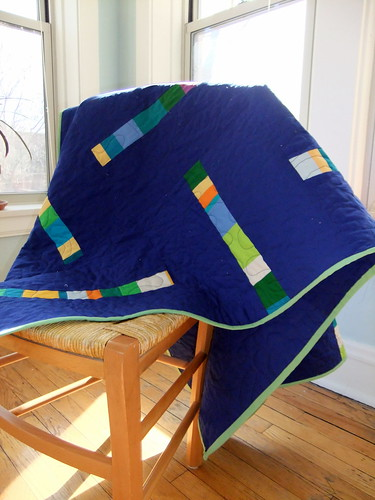 deep breath baby quilt