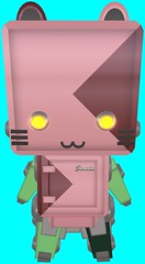 Torley Avatars 536 (▓▒░ TORLEY ░▒▓) Tags: pink green grid persona neon transformation expression character avatar linden watermelon identity secondlife virtual crop variety bluescreen manifestation shapeshifter torley olmstead incarnation