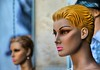 I met Her Down in Mexico.... (Ken Yuel Photography) Tags: statue mexico mannequins playadelcarmen lips hangingout quintanaroo mannequinheads digitalagent kenyuel 5thaveplayadelcarmen