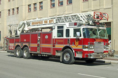 Indianapolis Fire Department. Ladder 31. (RJACBclan) Tags: aerial firetruck pierce fireengine laddertruck ifd piercearrow fireapparatus indianapolisfiredepartment ladder31 arrowxt ifdladder31 indianapolisladder31 indianapolisfiredepartmentladder31
