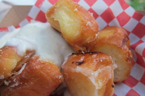 Flatiron Truck: Donut Holes with Orange Cream