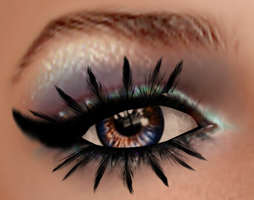 Details ofe the eye Make-up fo Zoe by Tuli on TTh Hunt!