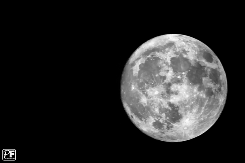 Luna en perigeo 19 de Marzo de 2011