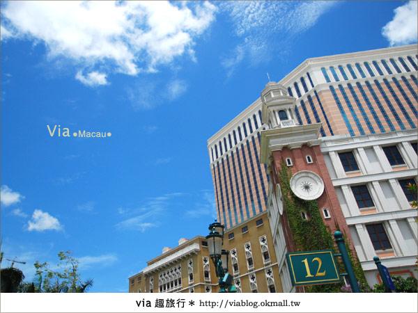 【澳門住宿】澳門威尼斯人酒店~享受奢華的住宿風格!4