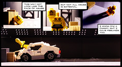 Feelings for Dummies (Legohaulic) Tags: test comic lego crash minifig dummy collectable
