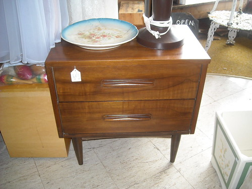 Mid Century Bed Table