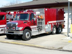 Elk Twp 11-31 (railnut19) Tags: water truck fire michigan international rig elk peck tender tanker twonship