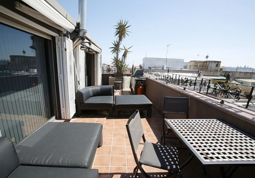 Terrace - penthouse for sale barcelona - spain