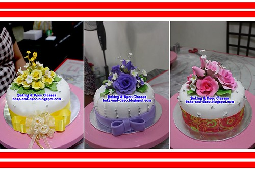 Batch 20 January 2011: Basic Fondant Wedding Cake