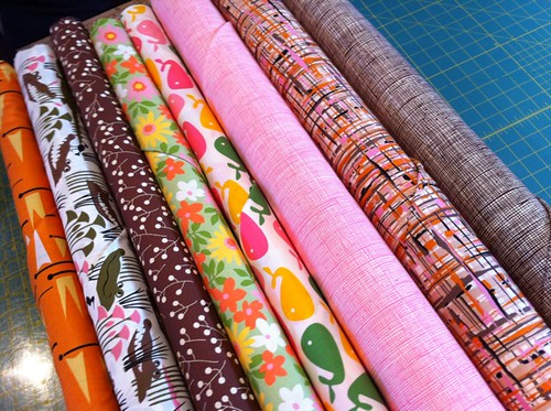 My fabric picks