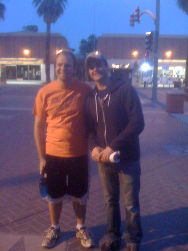 that one time I went out for a walk and ran into Will Forte