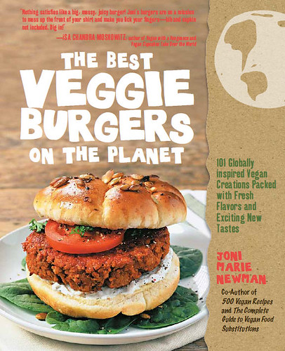 The Best Veggie Burgers Cover