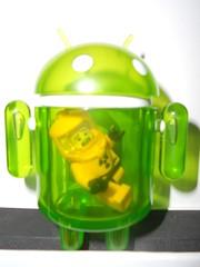 Neon People Eater - Custom (b00st3d4fun) Tags: diy lego vinyl figure custom android peopleeater andrewbell deadzebrainc dyzplastic minicollectible