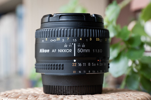 Nikon AF 50mm f/1.8D (enfoque a 1,5 m)