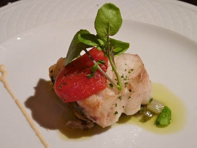 Lomo de Bacalao al Horno con Tomate Agridulce