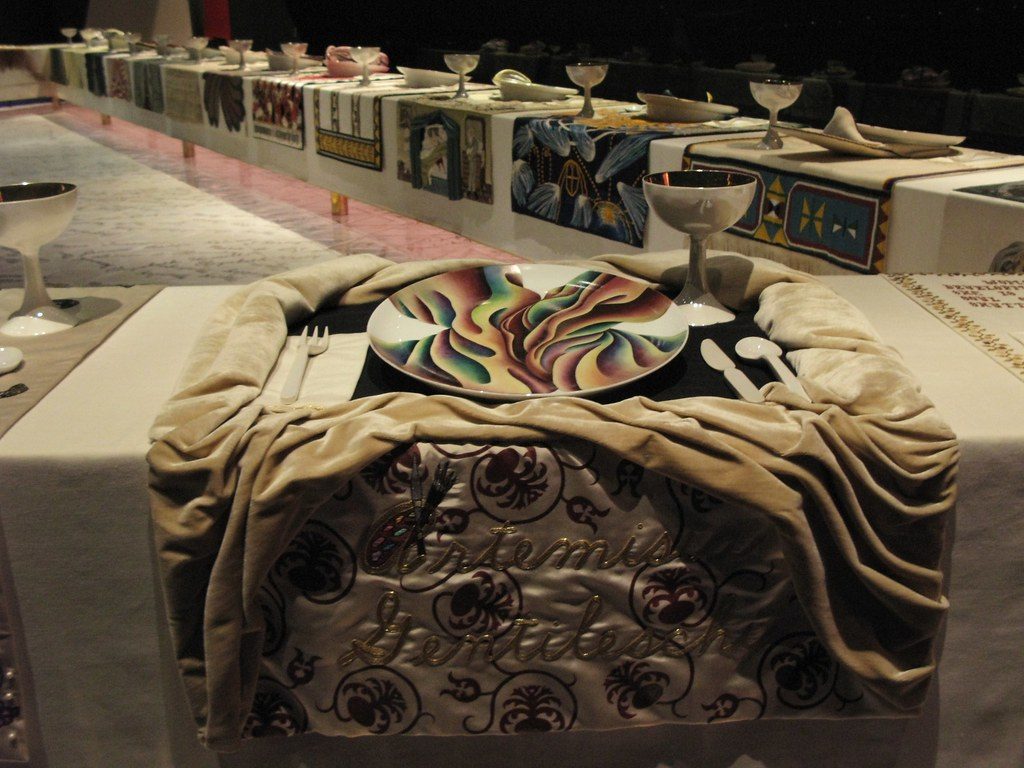 Brooklyn Museum The Dinner Party Part - 44: The Dinner Party By Judy Chicago (slowpoke_taiwan) Tags: Nyc Newyorkcity  Party Chicago Art
