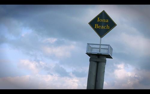 Iona Beach Sign
