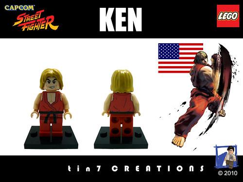 Custom minifig #01 - Ken custom minifig