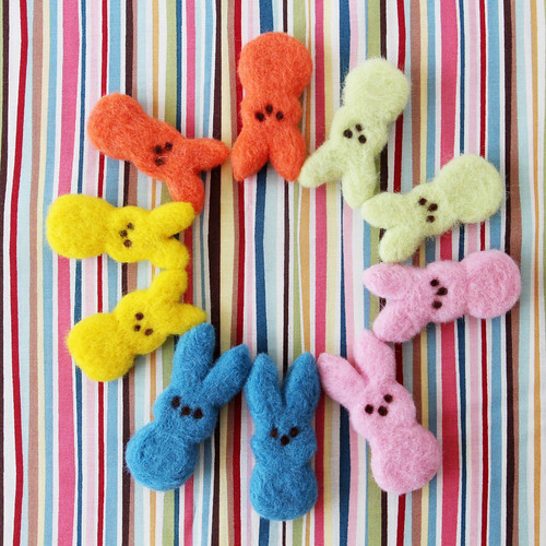 "Felted Easter ""Peeps"""
