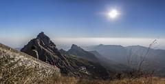the next goal (Tin-Tin Azure) Tags: girnar girinagar revatak pravata junagadh gujarat india temple mountain sacred pilgrimage hill altitude 3666 feet 3315 climb 250bce mount 1030 metres meters panorama panoramic pano