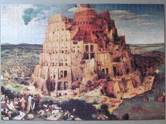 Breugel: The Tower of Babel (pefkosmad) Tags: jigsaw puzzle leisure hobby pastime 1000pieces missingpiece