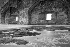 I'm watching you (kevin33040) Tags: none sonya6000 sony a6000 hdr fortpickens blackandwhite bw architecture old fort explore santarosa barrier island nps