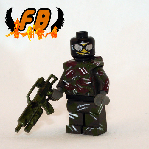 Custom minifig Jungle Trooper
