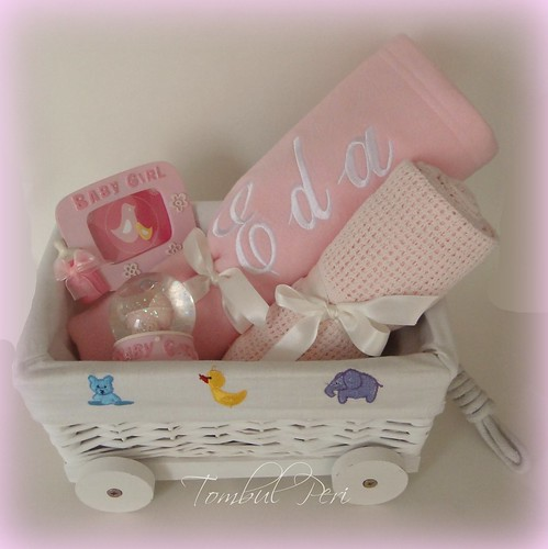 Baby Favor Basket