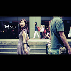 The Second Look (jef cris) Tags: people woman canon singapore dof bokeh candid chinese strangers streetphotography naturallight cinematic jefcris thesecondlook